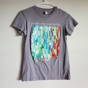Death Cab for Cutie Band Tee American Apparel M